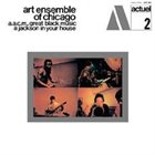 THE ART ENSEMBLE OF CHICAGO A.A.C.M., Great Black Music - A Jackson In Your House album cover