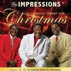 THE IMPRESSIONS I'm Coming Home For Christmas album cover