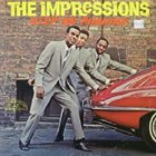 THE IMPRESSIONS Keep On Pushing album cover