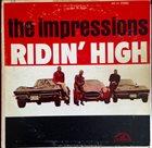 THE IMPRESSIONS Ridin' High album cover