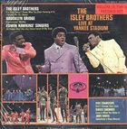THE ISLEY BROTHERS Live At The Yankee Stadium album cover
