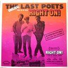 THE LAST POETS Right On! (Original Soundtrack) album cover