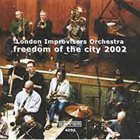 THE LONDON IMPROVISERS ORCHESTRA Freedom Of The City 2002 album cover