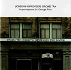 THE LONDON IMPROVISERS ORCHESTRA Improvisations For George Riste album cover