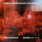 THE LONDON IMPROVISERS ORCHESTRA Proceedings album cover
