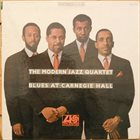 THE MODERN JAZZ QUARTET Blues at Carnegie Hall album cover