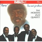 THE MODERN JAZZ QUARTET Topsy: This One's for Basie album cover