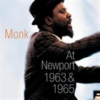 THELONIOUS MONK At Newport 1963 & 1965 album cover