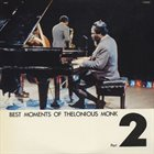 THELONIOUS MONK Best Moments Of Thelonious Monk Part 2 album cover