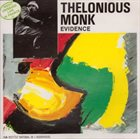 THELONIOUS MONK Evidence (1987) album cover