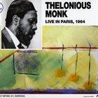 THELONIOUS MONK Live In Paris, 1964 album cover