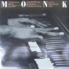 THELONIOUS MONK Live In Stockholm 1961 album cover