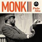THELONIOUS MONK Palo Alto album cover