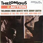 THELONIOUS MONK Thelonious In Action (With Johnny Griffin) (aka Way Out!) album cover