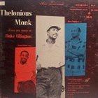 THELONIOUS MONK Thelonious Monk Plays Duke Ellington album cover