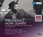 THELONIOUS MONK Thelonious Monk Quartet / Martial Solal Trio ‎: Live In Berlin 1961 / Live In Essen 1959 album cover
