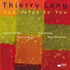 THIERRY LANG Dedicated To You album cover
