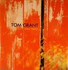 TOM GRANT Solo Piano album cover