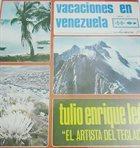 TULIO ENRIQUE LEÓN Vacaciones en Venezuela Vol 3 album cover