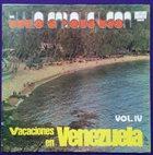 TULIO ENRIQUE LEÓN Vacaciones En Venezuela Vol 4 album cover
