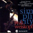 WALT WEISKOPF Simplicity album cover