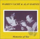 WARREN VACHÉ Memories of You album cover