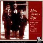 WARREN VACHÉ Warren Vaché, Allan Vaché : Mrs. Vaché's Boys album cover