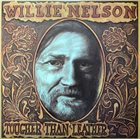 WILLIE NELSON Tougher Than Leather album cover