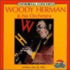 WOODY HERMAN Immortal Concerts album cover