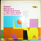 WOODY HERMAN Live At Carnegie Hall album cover