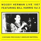 WOODY HERMAN Live Featuring Bill Harris Vol. 2 album cover