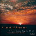 YELENA ECKEMOFF A Touch Of Radiance album cover