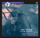YURI HONING Memory Lane album cover