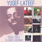 YUSEF LATEEF The Complete Recordings 1959-1962 album cover