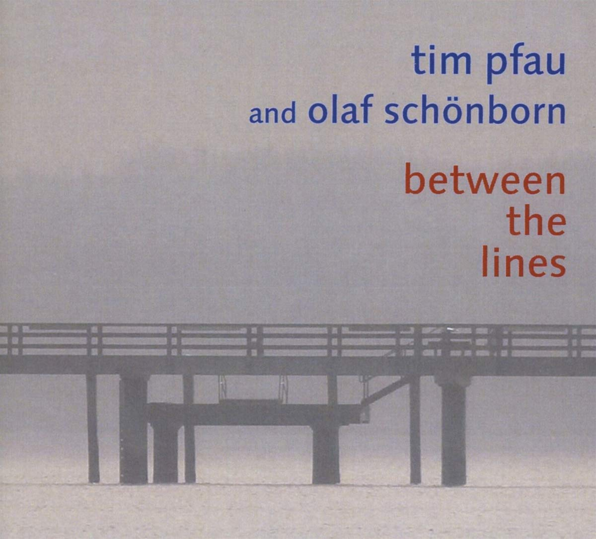 TIM PFAU - Between the Lines cover