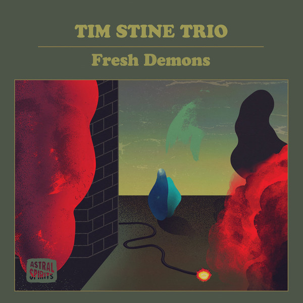 TIM STINE - Fresh Demons cover