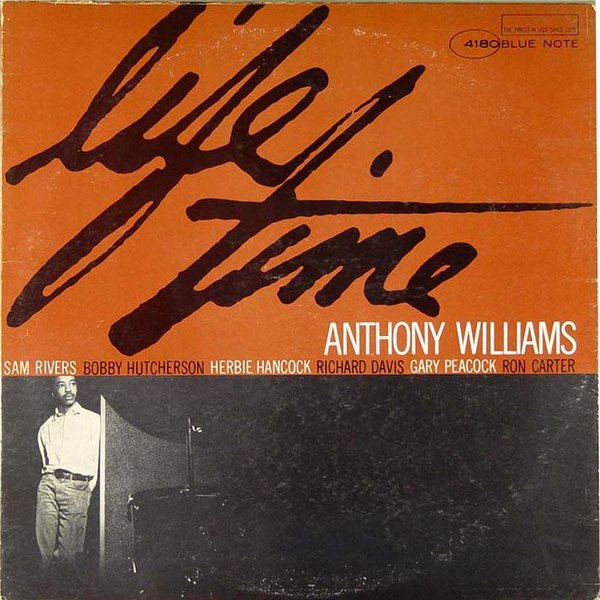 TONY WILLIAMS - Life Time cover
