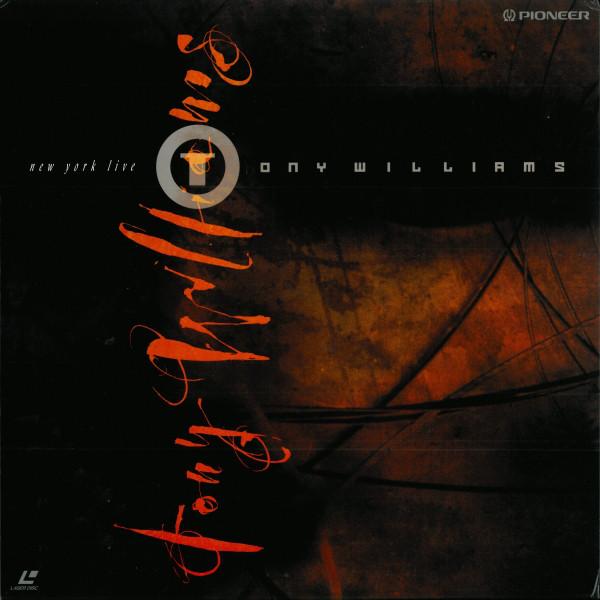 TONY WILLIAMS - New York Live cover