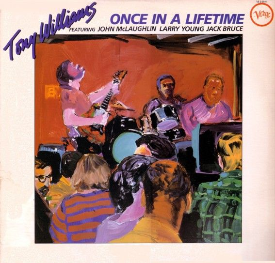 TONY WILLIAMS - Once In A Lifetime cover