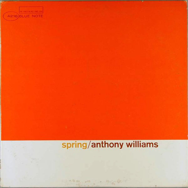 TONY WILLIAMS - Spring cover