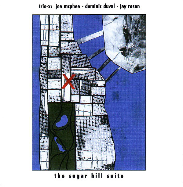 TRIO X (JOE MCPHEE - DOMINIC DUVAL - JAY ROSEN) - The Sugar Hill Suite cover