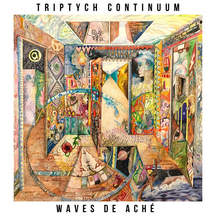 WAVES DE ACHÉ - Triptych Continuum cover