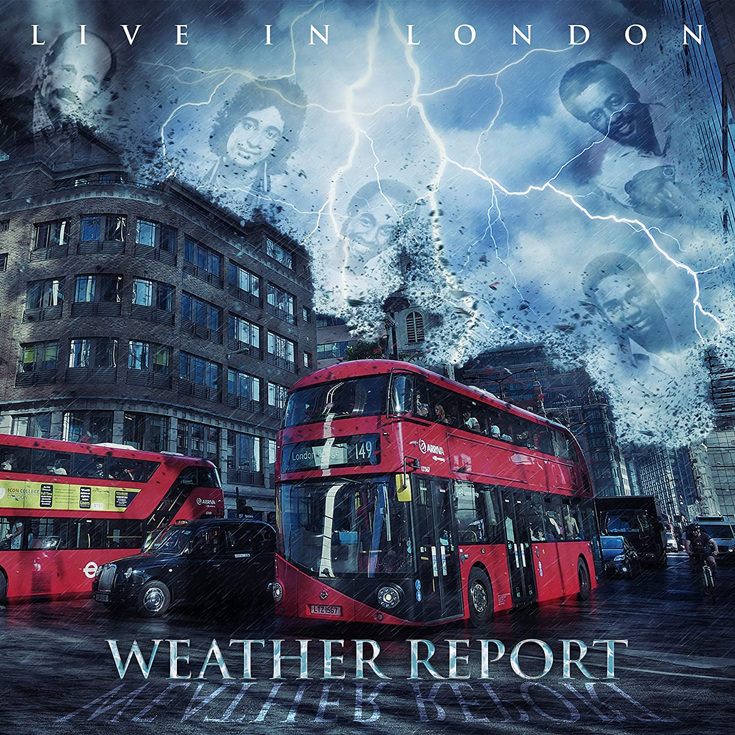 WEATHER REPORT - Live In London cover