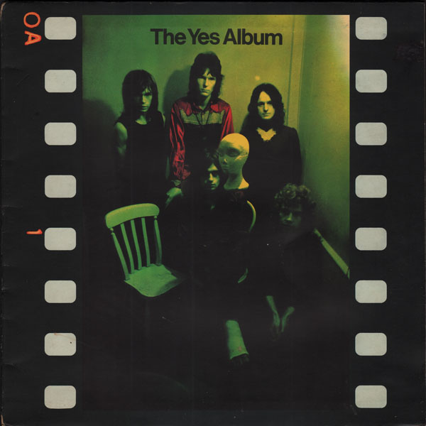 YES - The Yes Album cover