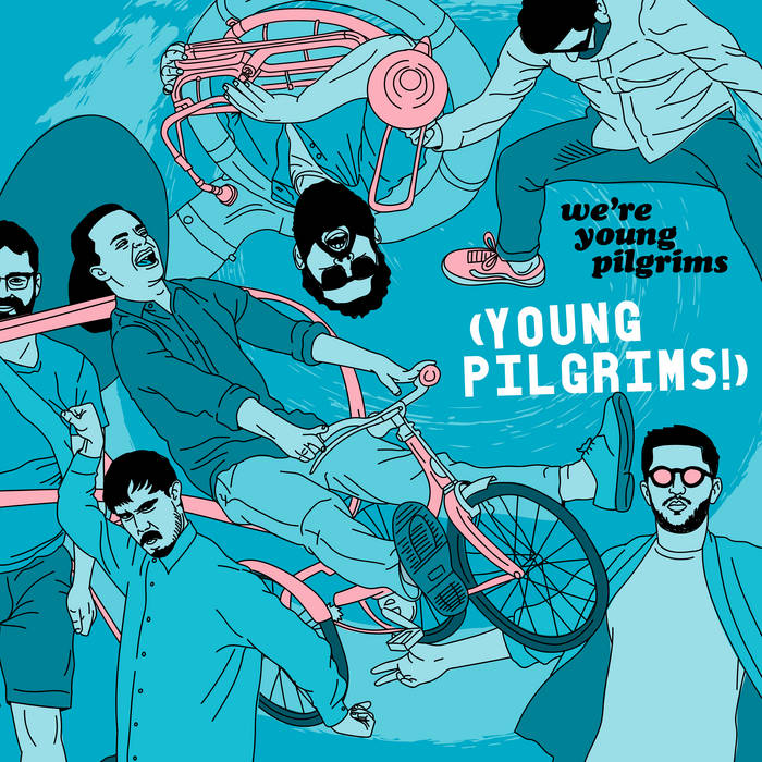 YOUNG PILGRIMS - Were Young Pilgrims cover