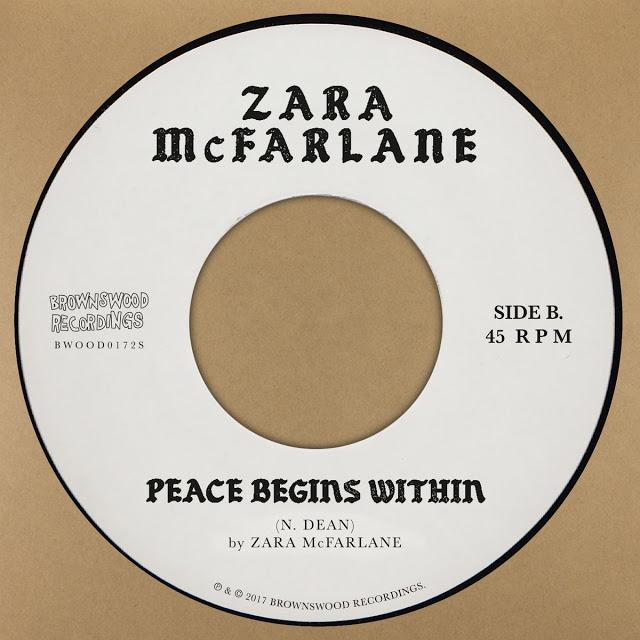 ZARA MCFARLANE - Peace Begins Within cover