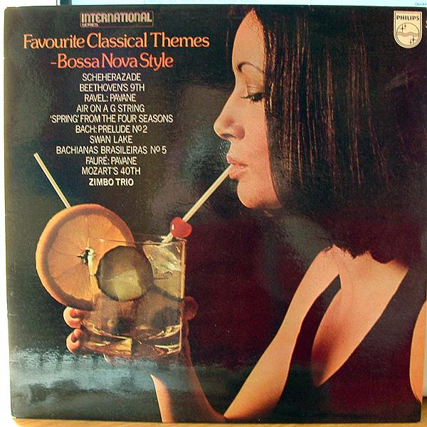 ZIMBO TRIO - Favourite Classical Themes – Bossa Nova Style cover