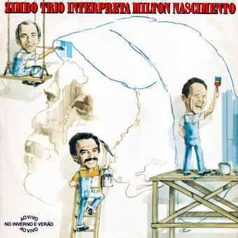ZIMBO TRIO - Zimbo Trio Interpreta Milton Nascimento cover