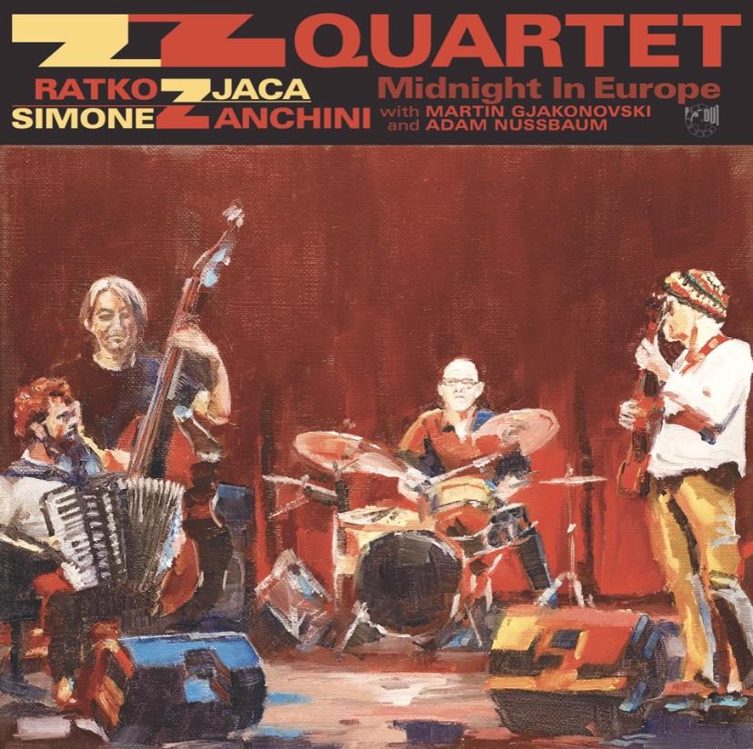 ZZ QUARTET - Midnight In Europe cover